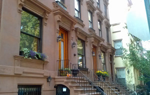 brownstone homes in brooklyn heights