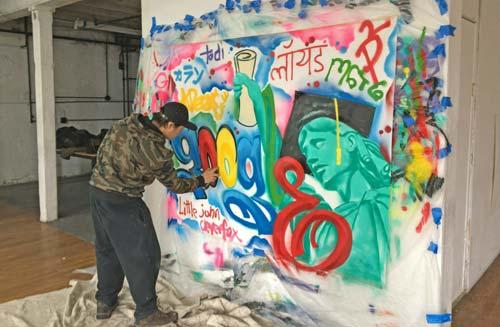 Beginner Spray Paint Graffiti Art