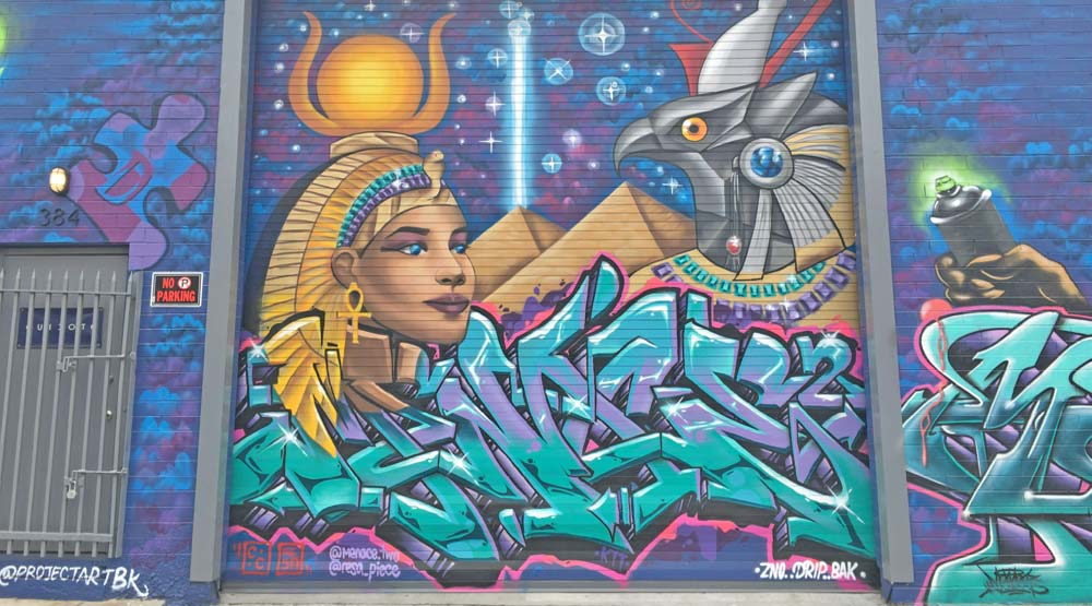 Get A Free Graffiti Artwork Mural Painted On Your Property