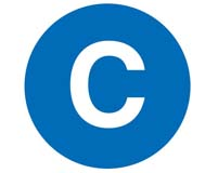 NYC Subway C line icon