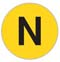 NYC Subway N line icon