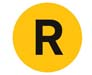 NYC Subway R line icon